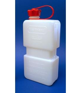 jerrycan  Fuel Friend 1,5 liter Hunersdorff  voor brandstof. Schenktuit bezinepomp past in opening.