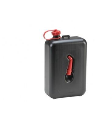 2 liter Brandstof Jerrycan zwart met tuit