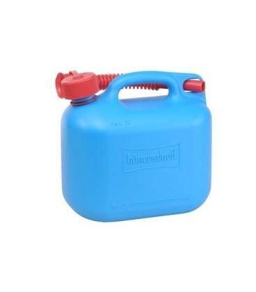 Jerrycan 5 liter blauw voor Benzine/Diesel UN-keur Hünersdorff