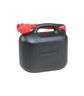 5 liter Brandstof Jerrycan Zwart voor Benzine en Diesel Hünersdorff