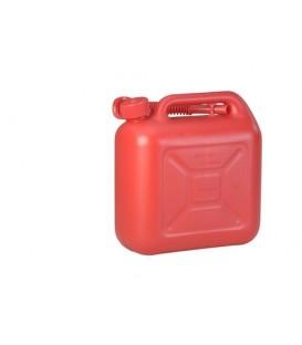 10 liter Brandstof jerrycan Rood voor o.a. benzine en diesel