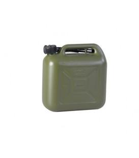 10 liter Brandstof jerrycan OlijfGroen voor o.a. benzine en diesel