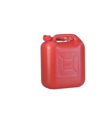 20 liter Brandstof Jerrycan Benzine/Diesel rood UN-keur