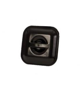 Deksel voor emmer 14 liter vierkant zwart