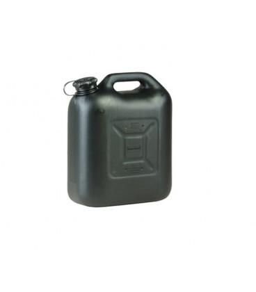 Jerrycan 18 liter zwart BAM-keur