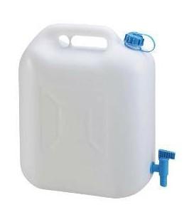 Water Jerrycan 20 liter met vaste kraan