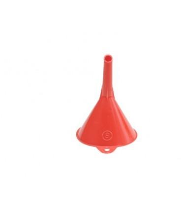 trechter  6 cm. rood